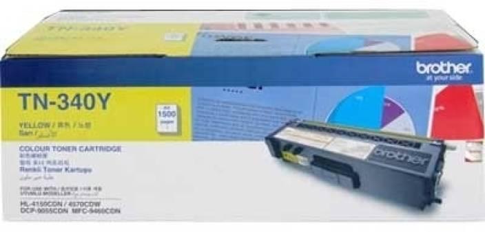 Brother TN 340Y Toner cartridge