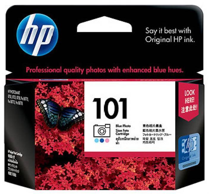 HP 101 Blue Photo Inkjet Print Cartridge
