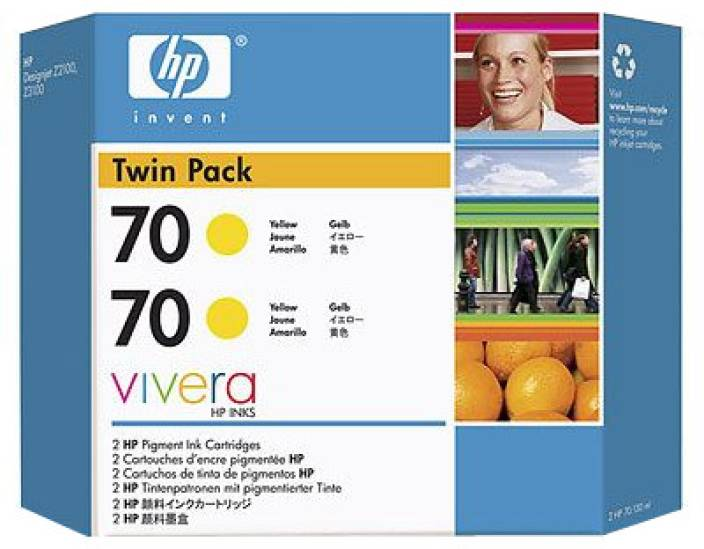 HP 70 Twin Pack