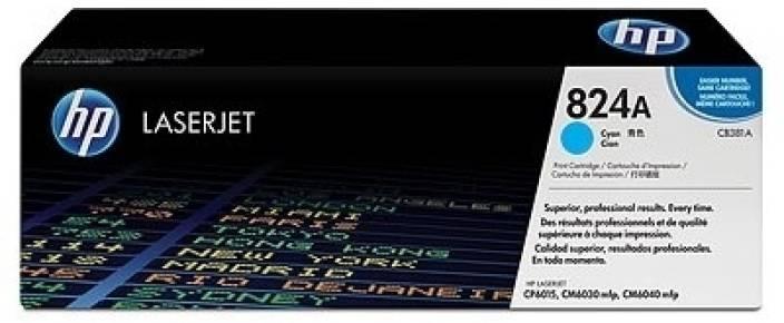 HP 824A Cyan LaserJet Toner Cartridge