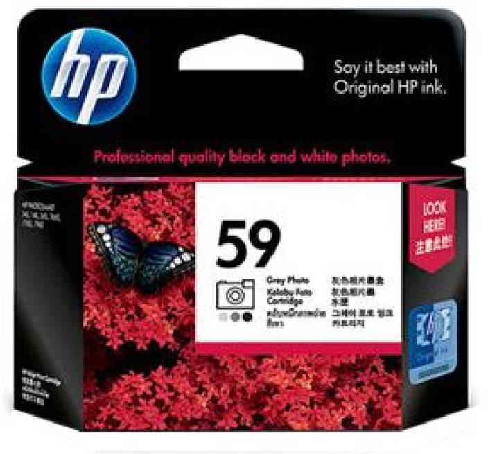 HP 59 Gray Photo Inkjet Print Cartridge