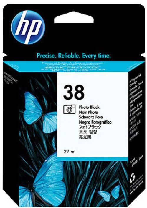 HP 38 Photo Black Ink Cartridge