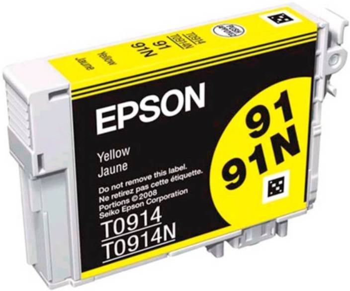 Epson 91N Yellow Ink cartridge C13T107490
