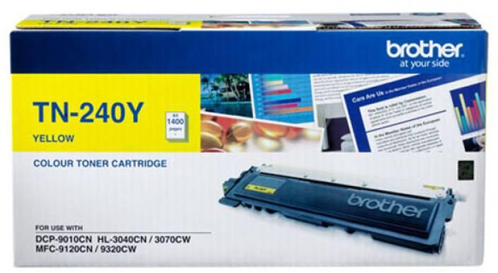 Brother TN 240Y Toner cartridge