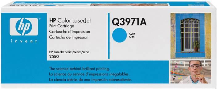 HP 123A Cyan LaserJet Toner Cartridge