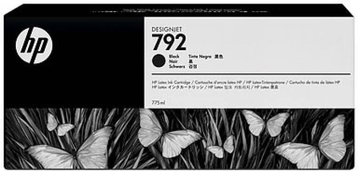 HP 792 Black Latex Designjet Ink Cartridge