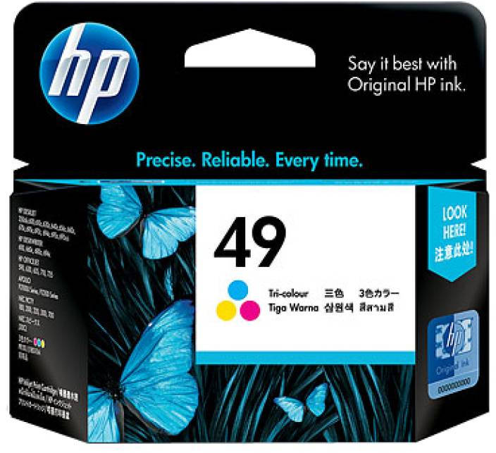 HP 49 Tricolor Ink Cartridge
