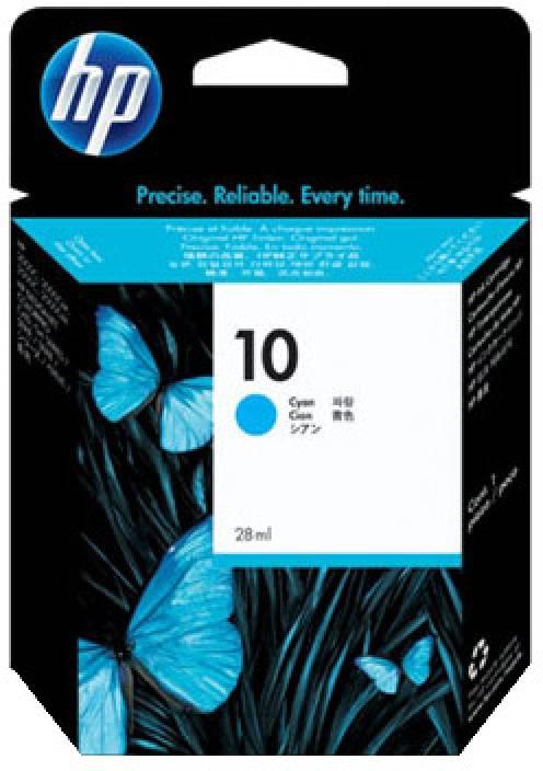 HP 10 Cyan Ink Cartridge