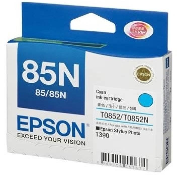 Epson 85N Cyan Ink cartridge C13T122200
