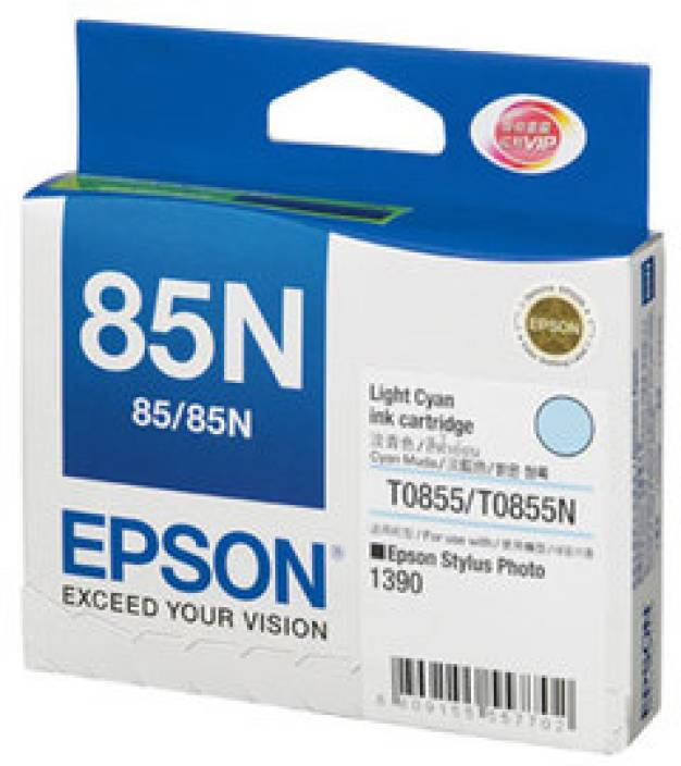 Epson 85N Light Cyan Ink cartridge C13T122500