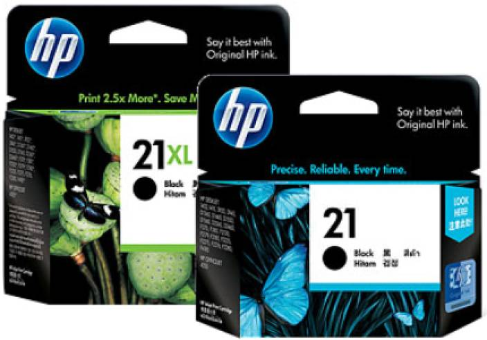 HP 21 2-Pack Ink Cartridges
