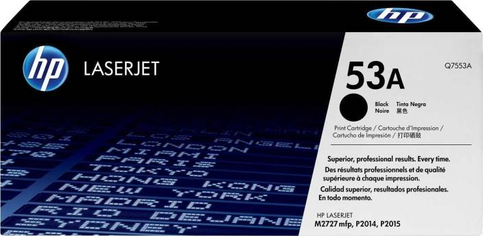 HP LaserJet 53A Black Toner Cartridge
