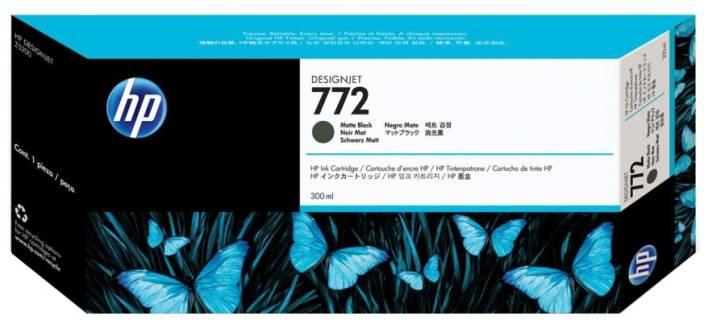 HP 772 300 ml Matte Black Designjet Ink Cartridge