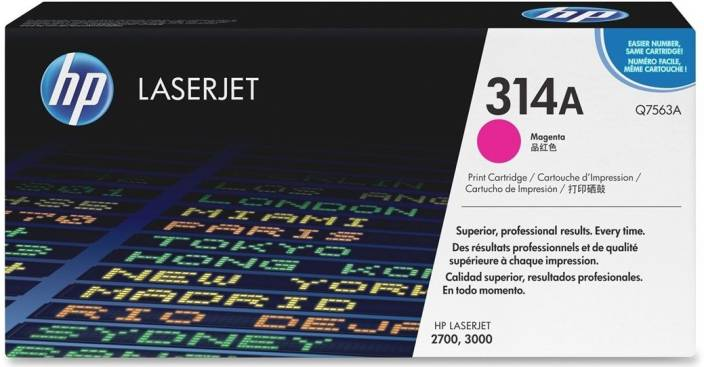 HP Color LaserJet Q7563A Magenta Print Cartridge