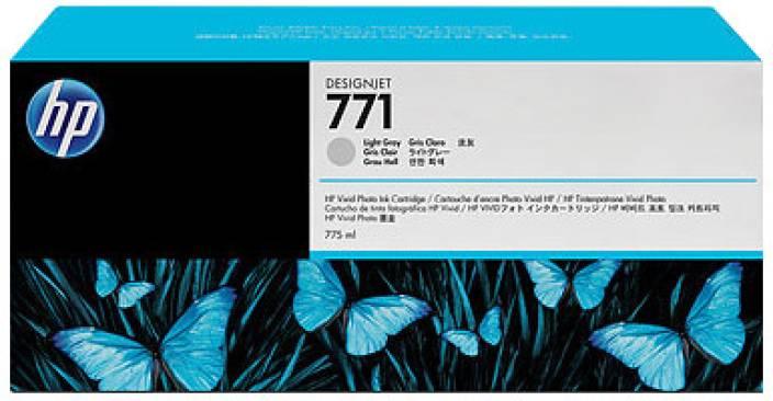 HP 771 Light Gray Designjet Ink Cartridge