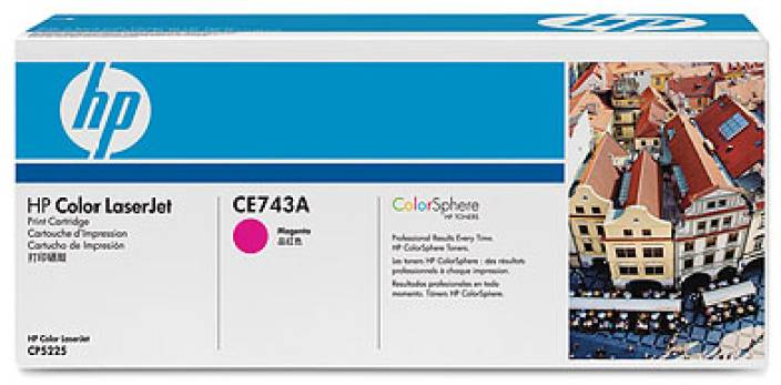 HP 307A Magenta LaserJet Toner Cartridge