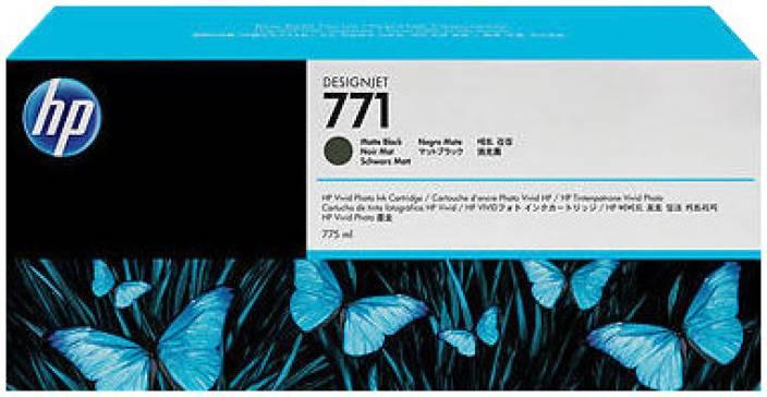 HP 771 3-pack Matte Black Designjet Ink Cartridges