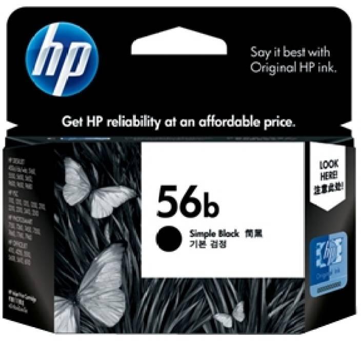 HP 56b Simple Black Ink Cartridge