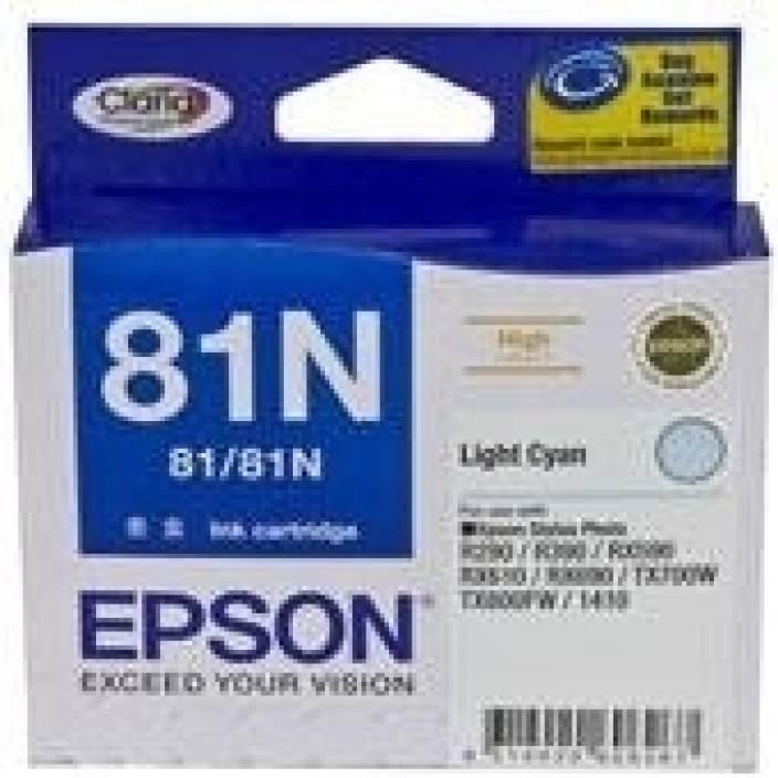 Epson 81N Light Cyan Ink cartridge C13T111590