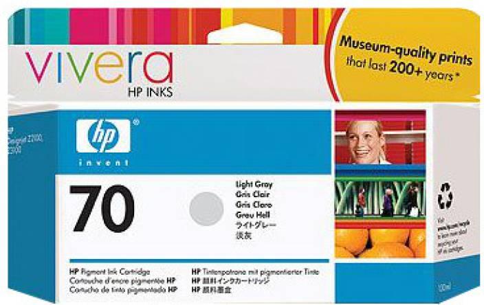 HP 70 Light Grey Ink Cartridge