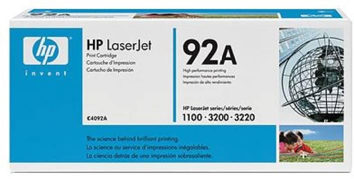 HP 92A Black LaserJet Toner Cartridge