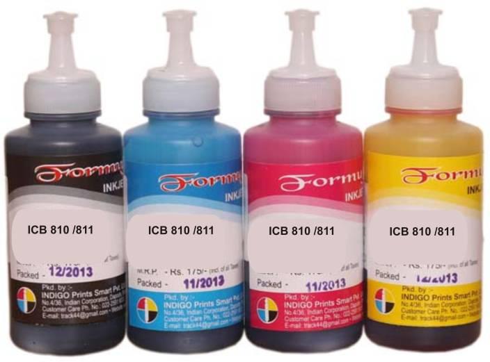 Formujet Refill Ink For Canon PG 810, CL 811, PG 740, CL 741, PG 745, CL 746, PG 47, CL 57 Ink Cartridges Multi Color Ink