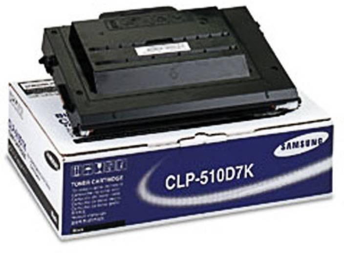 Samsung CLP 510D7K Black Toner Cartridge