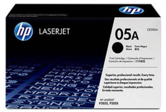 HP 05A Black LaserJet Toner Cartridge