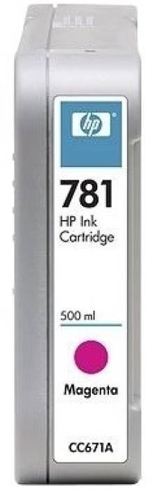 HP 781 500-ml Magenta Ink Cartridge