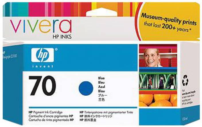 HP 70 Blue Ink Cartridge