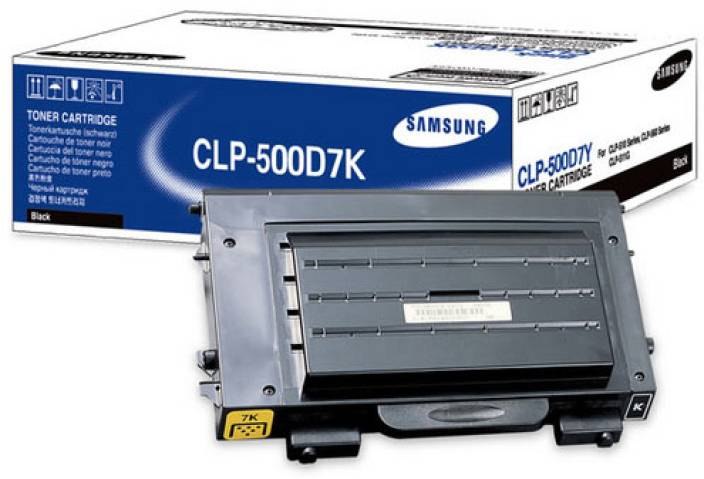 Samsung CLP 500D7K Black Toner Cartridge