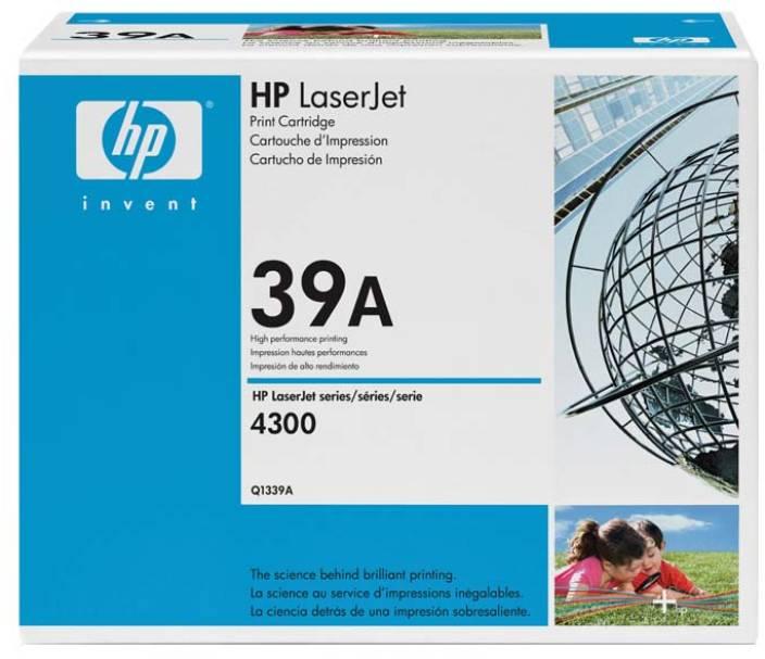 HP LaserJet Q1339A Black Print Cartridge