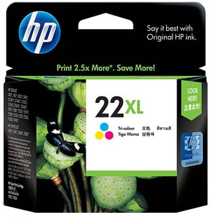 HP 22XL Tricolor Ink Cartridge
