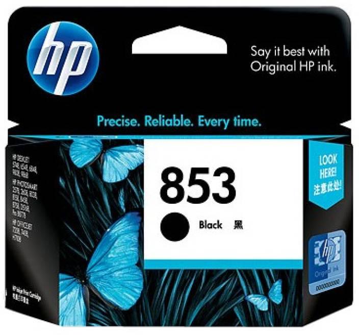 HP 853 Black Inkjet Print Cartridge