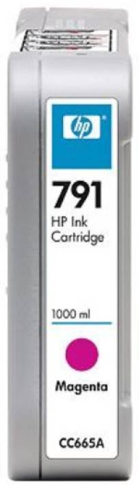 HP 791 1000-ml Magenta Ink Cartridge