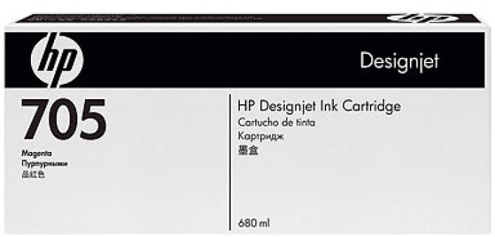 HP 705 Magenta Ink Cartridge