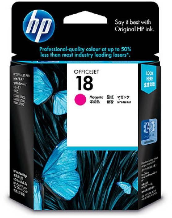 HP 18 Magenta Ink Cartridge