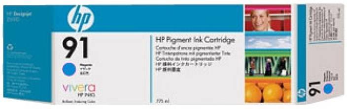 HP 91 3 pack 775 ml Cyan Ink Cartridges