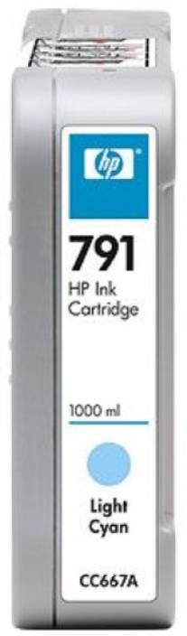 HP 791 1000-ml Light Cyan Ink Cartridge