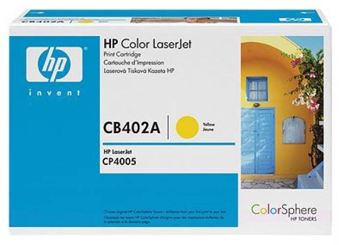 HP Color LaserJet CB402A Yellow Print Cartridge