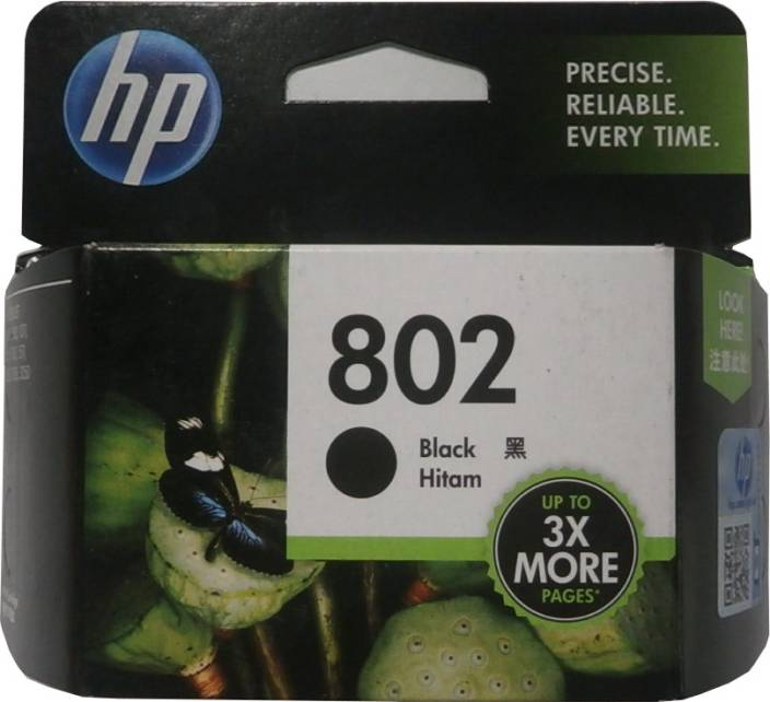 HP 802 Single Color Ink Cartridge
