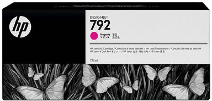 HP 792 Magenta Latex Designjet Ink Cartridge