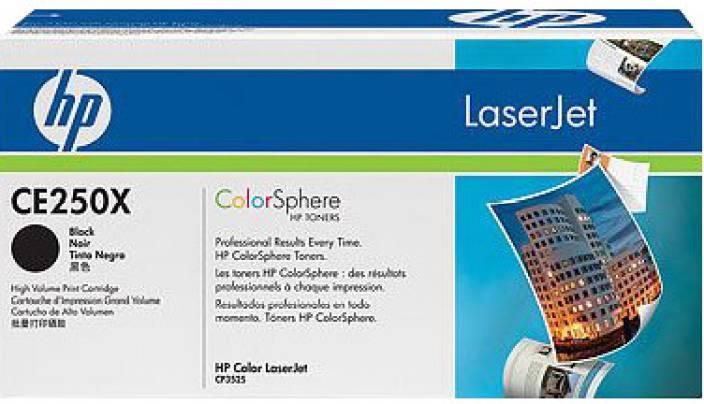 HP Color LaserJet CE250X Print Cartridge
