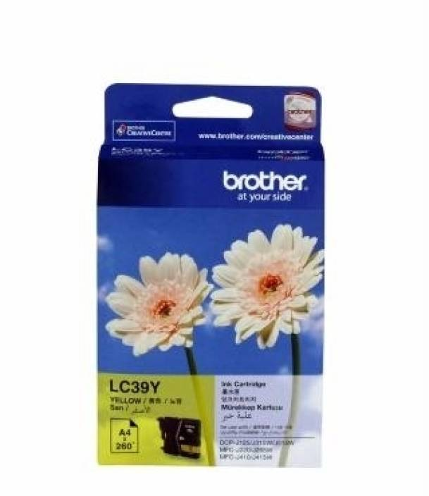Brother LC 39Y Ink cartridge