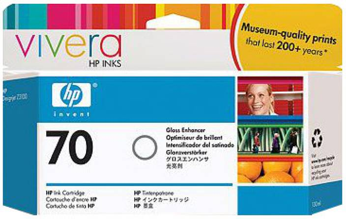 HP 70 Gloss Enhancer Ink Cartridge