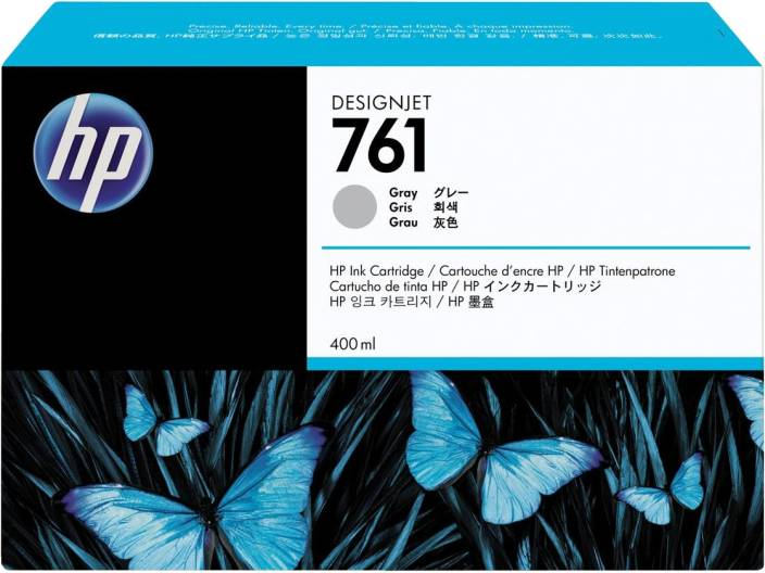 HP 761 400 ml Grey Designjet Ink Cartridge