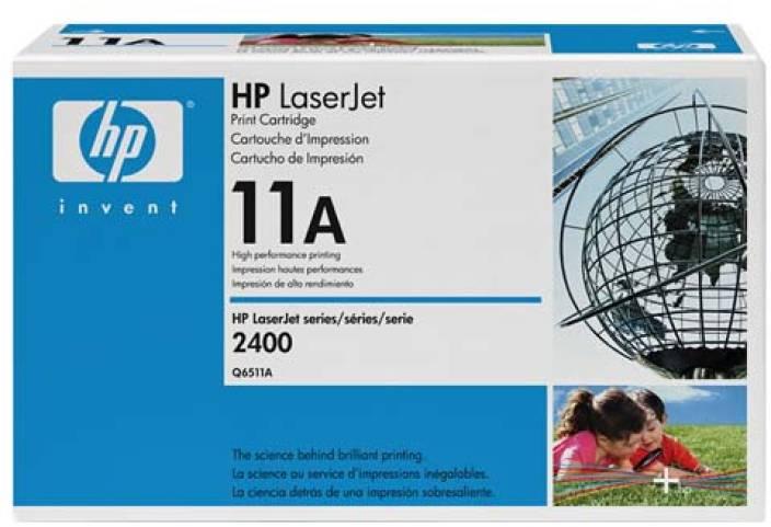 HP 11A Black LaserJet Toner Cartridge
