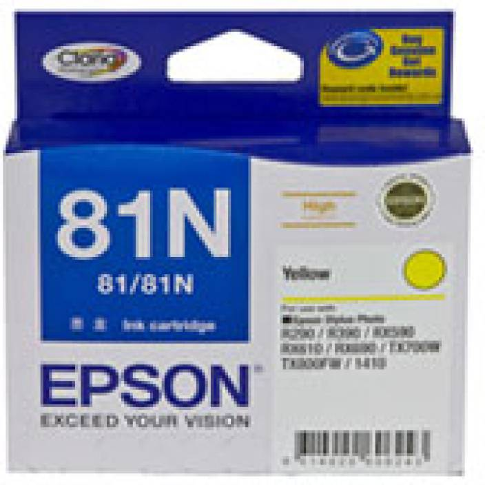 Epson 81N Yellow Ink cartridge C13T111490