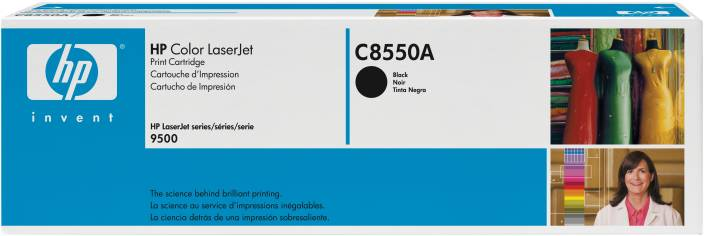 HP Color LaserJet C8550A Black Print Cartridge
