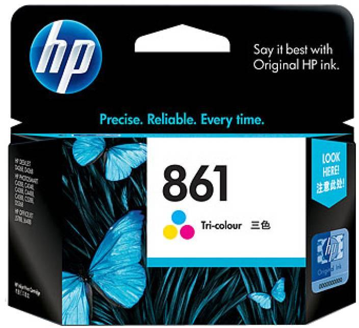 HP 861 Tricolor Ink Cartridge